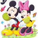Mickey mouse window stickers (JDC185)